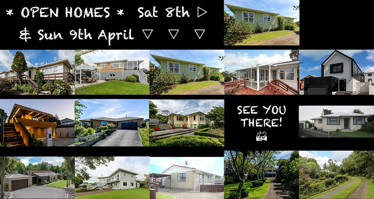 Our open homes this weekend from left to right: Saturday 8 April: 5B Pembroke Street Westown 1:00-1:30pm Sunday 9 April: 10 Melrose Street Spotswood 11:00-11:30am | 10A Kowhai Street Strandon 11:30…
