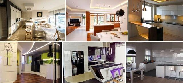 Kuchnia otwarta na salon – 6 nowoczesnych aranżacji