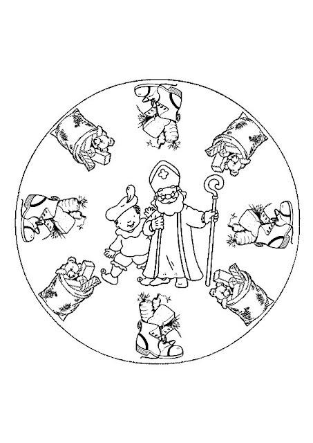 Mandala Sinterklaas