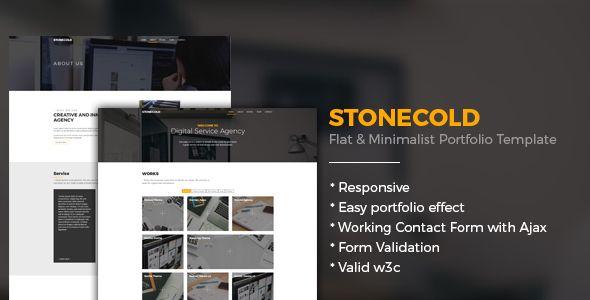 Grab your portfolio template it just $18! #webtemplate #flat #portfolio https://goo.gl/nFmhZL