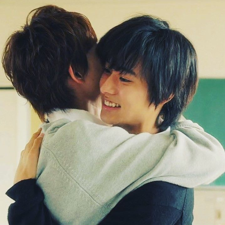 """Kento Yamazaki x Ryo Ryusei, J LA movie """"orange"""", 2015"""