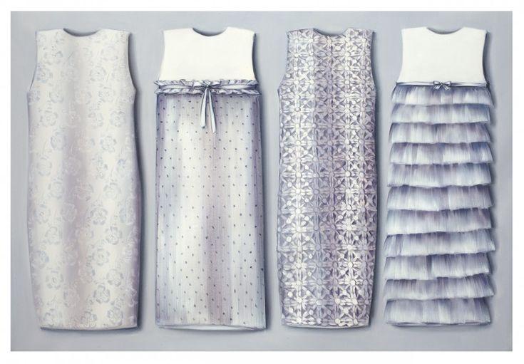 Clothing Paintings | Lisa Milroy