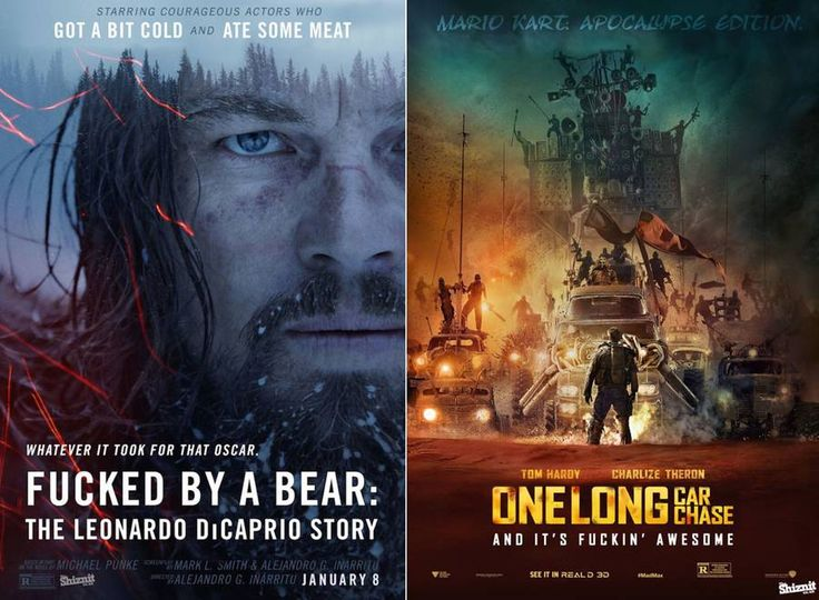 Honest Movie Posters of the Oscars 2016 Nominees