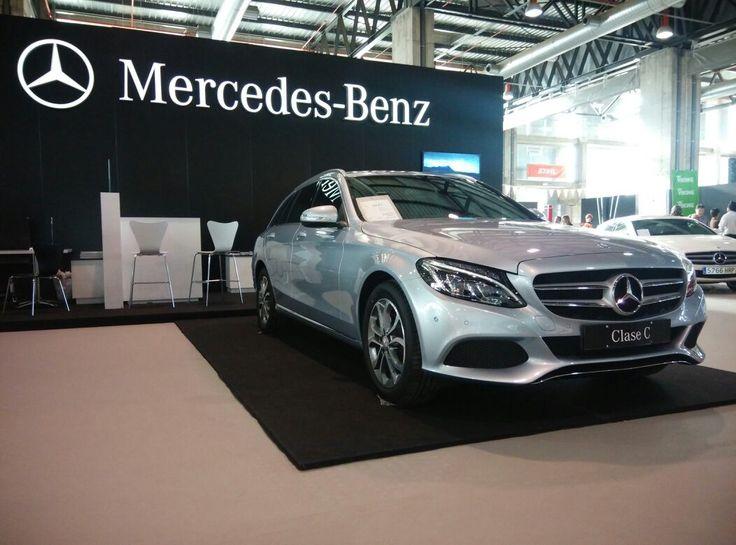 #Mercedes Clase C Estate - presentado en #Extremadura en  #Feciex 2014 por Automocion del Oeste, SA (#AOSA)