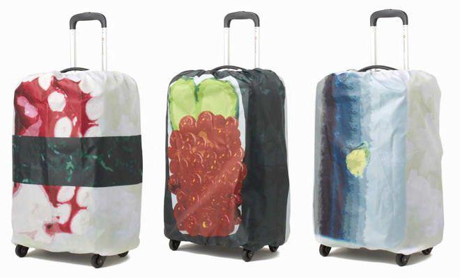 スーツケースが寿司に変身!