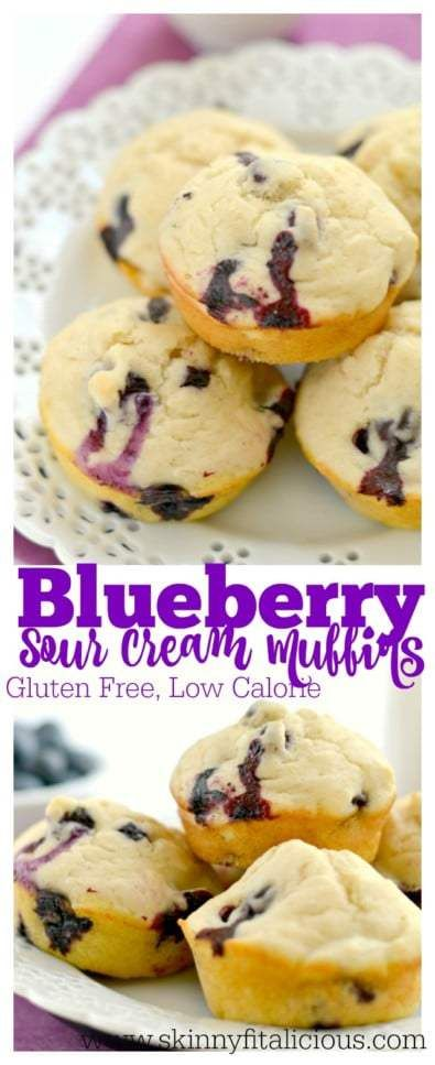Made with sour cream, applesauce, milk, and gluten free ...