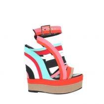 PIERRE HARDY: Shoes Wedges, Wedges Heels, Pierre Balmain, Dreams Closet, Summer Shoes, Color Wedges, Hardy Sandals, Pierre Hardy, Multicolored Sandals