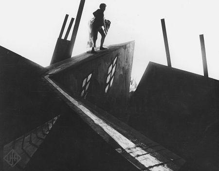 el gabinete del doctor Caligari - Expresionismo alemán cinematográfico
