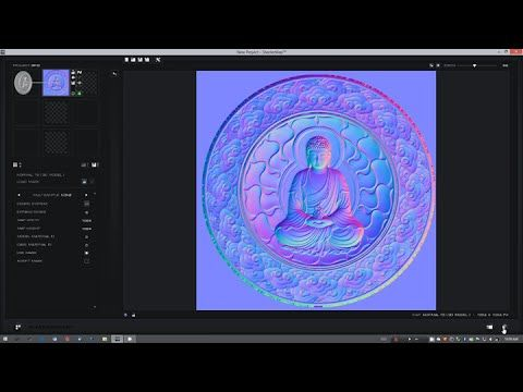 Baking Maps from 3D Models with ShaderMap 3 - YouTube