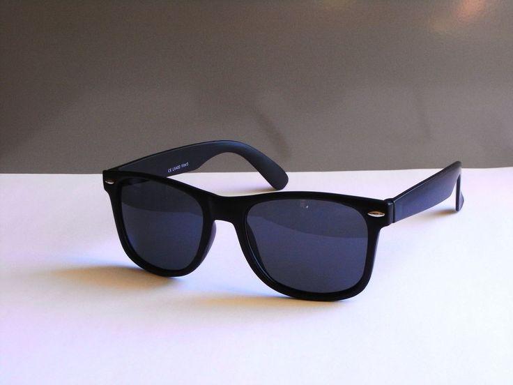 Wayfarer Retro Style Herren / Damen Sonnenbrille Sunglasses Schwarz Modell 134
