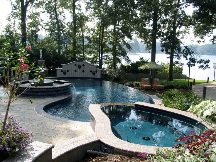 64 best ideas about swimming pools on pinterest swim for Residential swimming pool designs