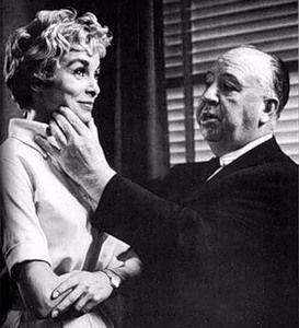 RETRO LIFE - 16 июня 1960 г. — премьера фильма Альфреда Хичкока «Психо». Джанет  Ли  и  Альфред  Хичкок.