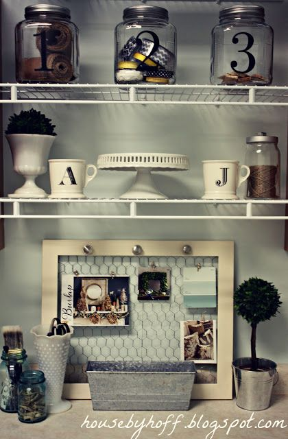 Laundry Room DIY YES! Lorah makes these frames with chicken wire;) a must have for my utility room