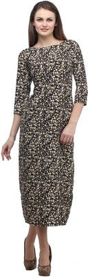 Buy Cottinfab Women's A-line Dress Online at Best Offer Prices @ Rs. 995/- In India. #Maxi #Dresses #India