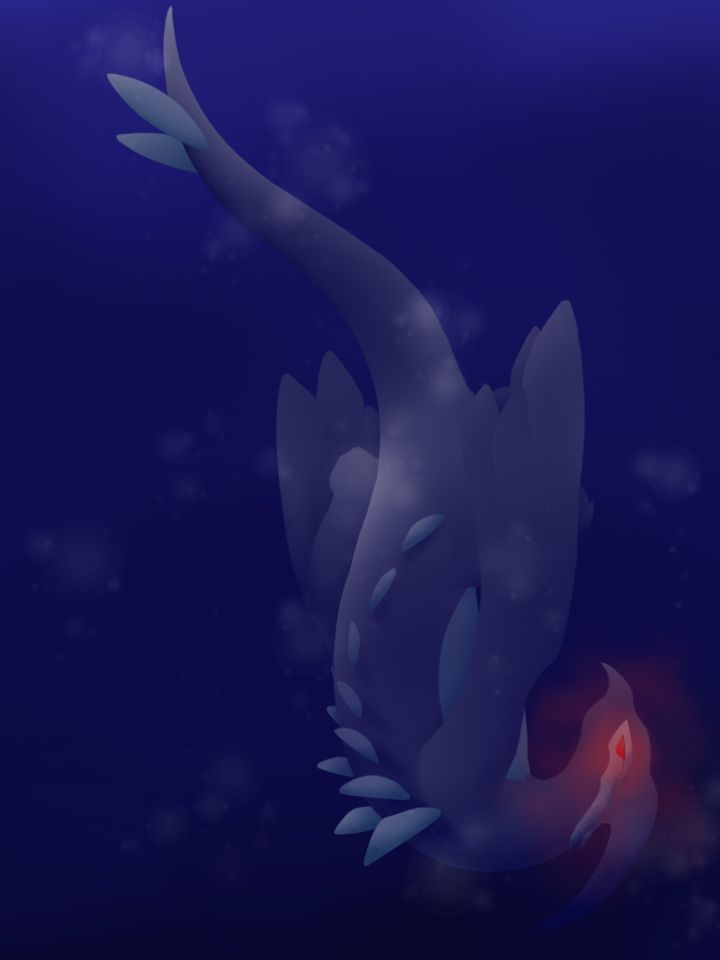 Shadow Lugia by Gathouria on deviantART