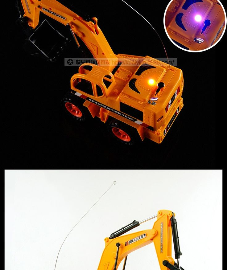 Nice Remote Control Digger Excavator Toy For Sale