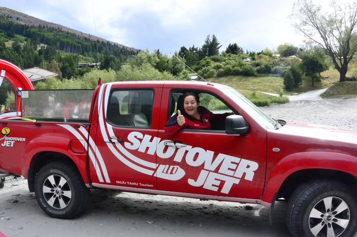 Shotover Jet Behind the scenes truck