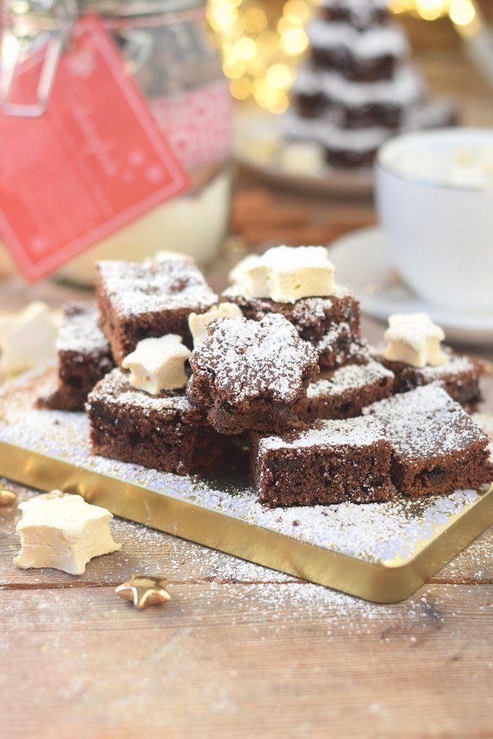 Backmischung: Schneller Schokokuchen & Zimt Marshmallows - Chocolate Cake with cinnamon marshmallows   Das Knusperstübchen