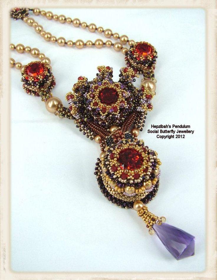 Best images about beadwork necklaces pendants