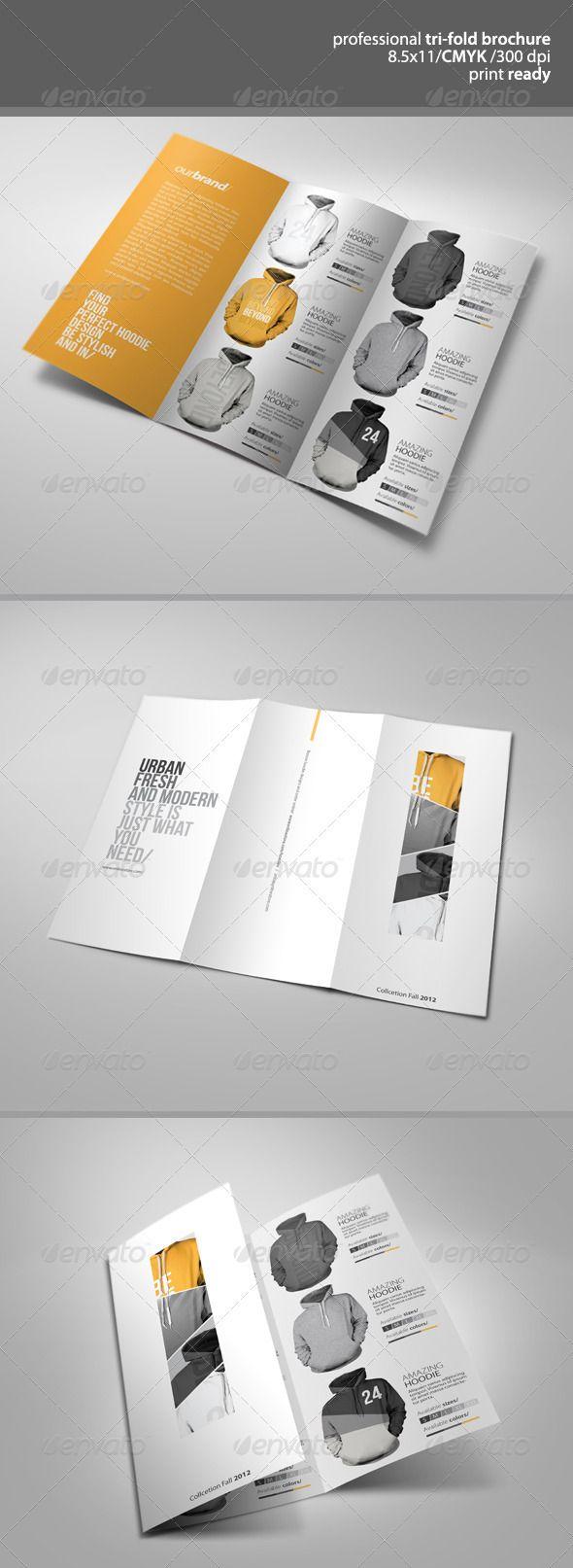 Apparel Tri-Fold Brochure - GraphicRiver Item for Sale