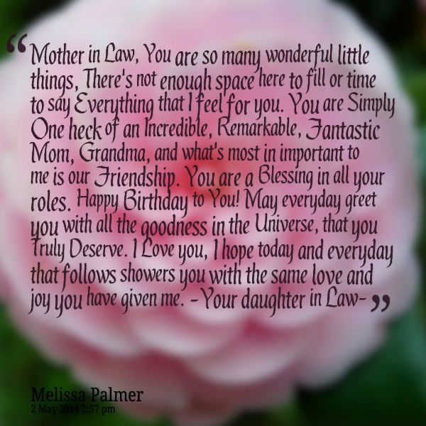 1000+ Ideas About Mother In Law Birthday On Pinterest