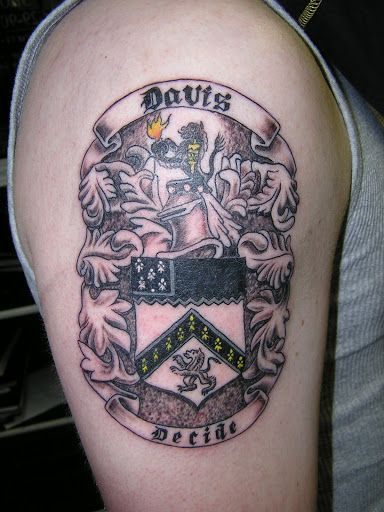 english coat of arms tattoo - photo #15
