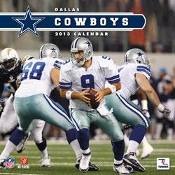 Dallas Cowboys 2013 12X12 Team Wall Calendar  http://www.fansedge.com/Dallas-Cowboys-2013-12X12-Team-Wall-Calendar-_160260535_PD.html?social=pinterest_pfid23-55881