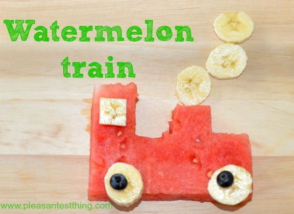 My boys love watermelon and this train snack- is simple to make, and it gets them asking for serving after serving of fruit! To assemble: Cut the train shape out of watermelon: It is basically just 3 rectangles – a big one for the body, a tall skinny one for …