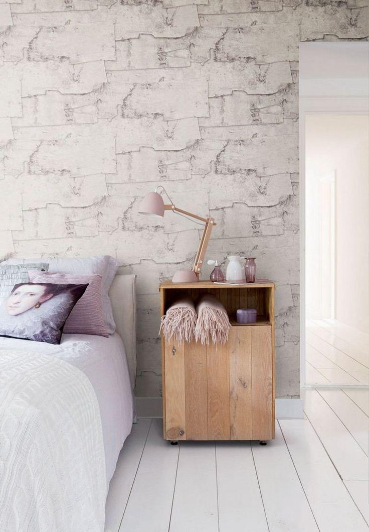 les 25 meilleures id es de la cat gorie papier peint imitation pierre sur pinterest papier. Black Bedroom Furniture Sets. Home Design Ideas