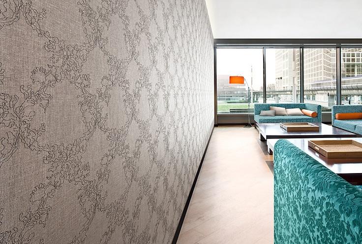 Vescom - wallcovering – design Silhouette Embroider