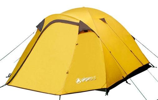 MT Washington Yellow Dome Tent Sleeps 2-3 Person Man Tent Gigatent
