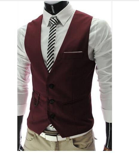 Suit Vest For Formal Or Business Jacket
