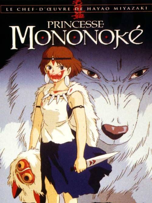 "Princess Mononoke (1997 ""Mononoke-hime"" (original title) - On a journey to find the cure for a Tatarigami's curse, Ashitaka finds himself in the middle of a war between the forest gods and Tatara, a mining colony. In this quest he also meets San, the Mononoke Hime.  Director: Hayao Miyazaki Writer: Hayao Miyazaki Stars: Yôji Matsuda, Yuriko Ishida, Yûko Tanaka"