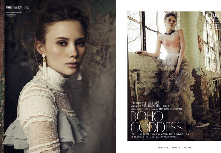 Alex Evans, Toronto Fashion and Portrait Photographer. @portfoliobox