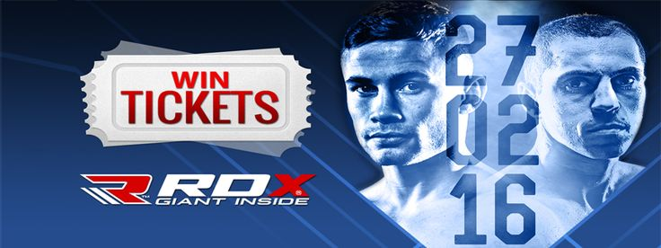 RDX Sports is now offering boxing fans a golden chance to win 2 tickets to the SOLD OUT Carl Frampton and Scott Quigg fight, which will be held on February 27 in Manchester. To qualify, all you need to do is Share this image and like our page RDX Sports.…