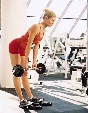 Программа тренировки в тренажерном зале для женщин №9. По типу фигуры. X-тип.