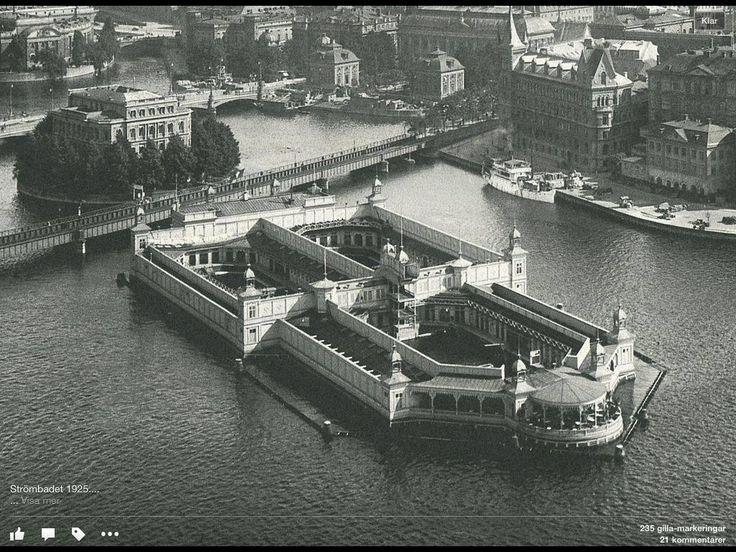 Strömbadet 1925