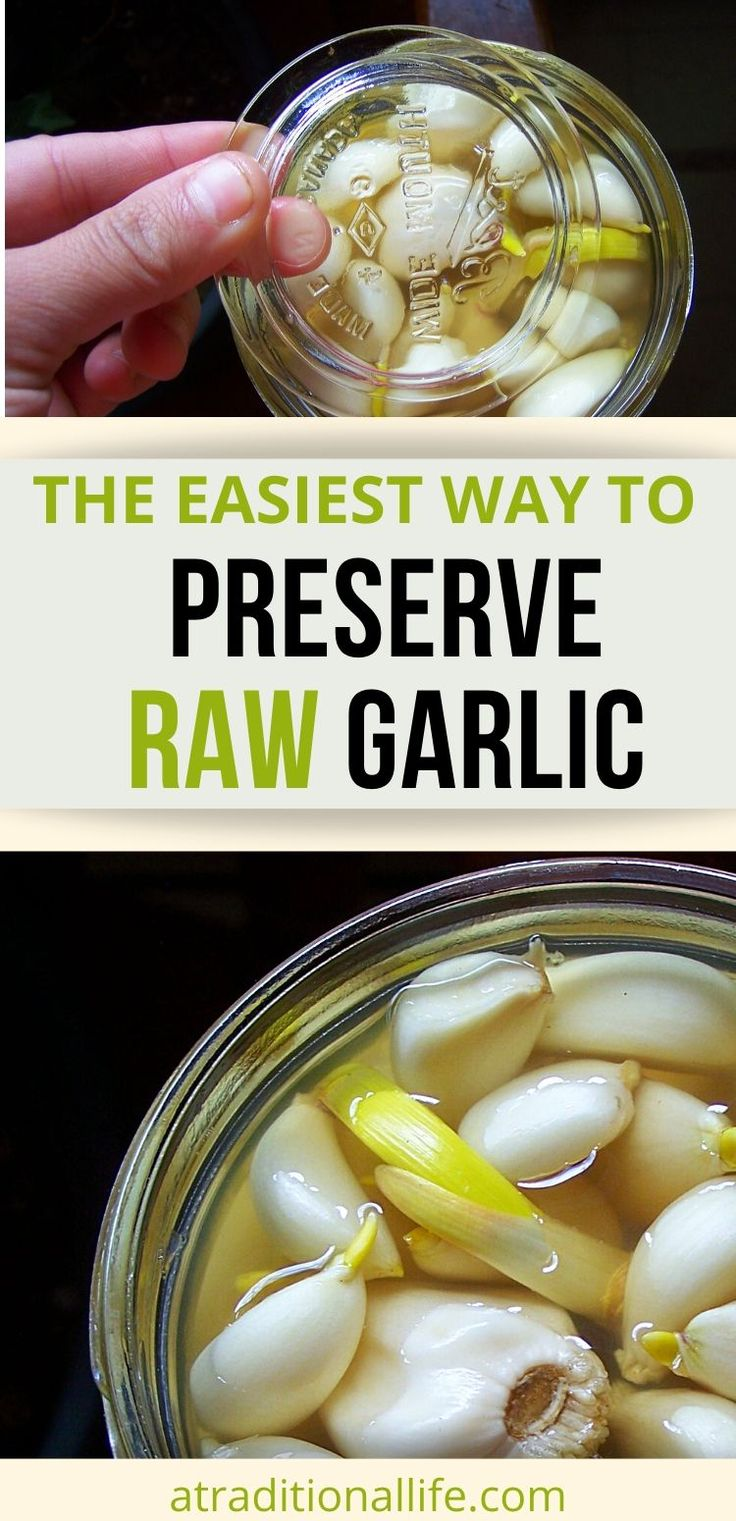 How to Preserve Garlic Cloves in Raw Form in 2020