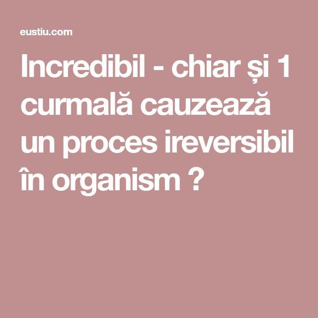 Incredibil - chiar și 1 curmală cauzează un proces ireversibil în organism ⋆