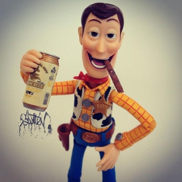 Toy Story Gum : La vida secreta de woody el vaquero