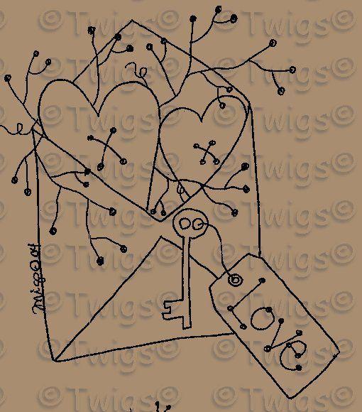 Free Printable Primitive Stitchery Patterns - Bing images