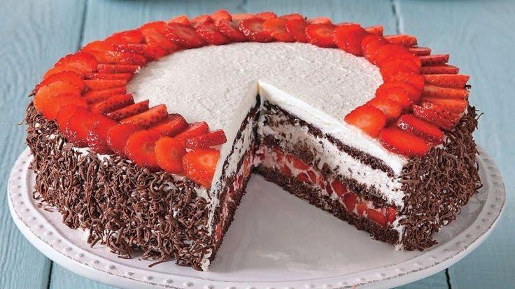 Torta z Čierneho lesa | Recepty.sk