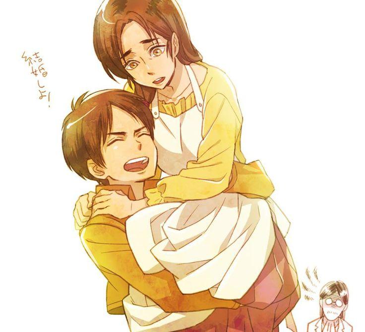 shingeki kyojin chuugakkou ending relationship