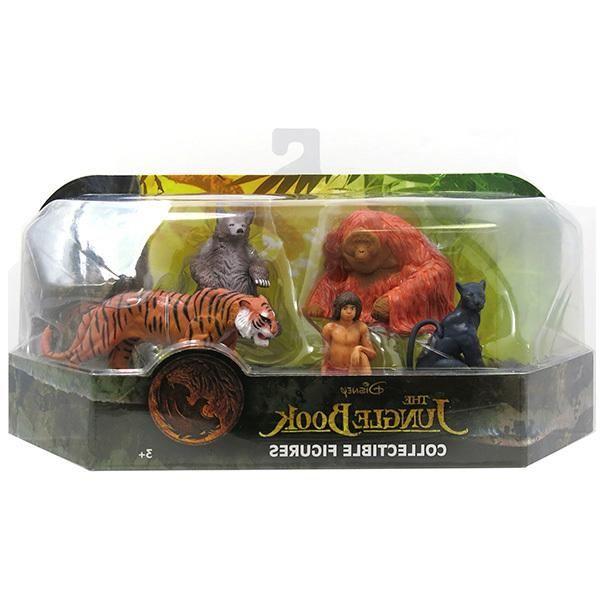 Just Play Just Play, Jungle Book Игрушка Книга джунглей, 5 фигурок в блистере