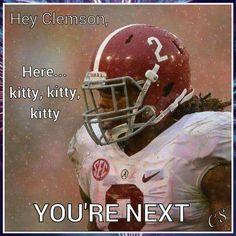 Hey Clemson...
