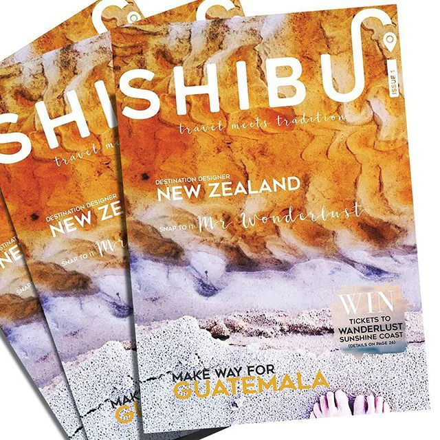 C E L E B R A T E  It's time to SHIBUI! We are dancing with excitement to bring you our very first online edition of SHIBUI Issue! This sparkly, new bi-monthly publication is the start of something wonderful. For those who love travel, culture and artisan traditions, we curate tales to inspire and enrich travel experiences globally. Our planet is small but our shared history is vast and amazing.  Share. Subscribe. SHIBUI.  Happy reading Briseis & Karina X @shibuiandco @karinaeastway…