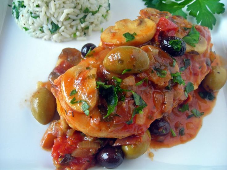 My Carolina Kitchen: Chicken Marengo – the famous French dish invented by Napoleon's battlefield chef to celebrate Napoleon's success in northwest Italy in 1800