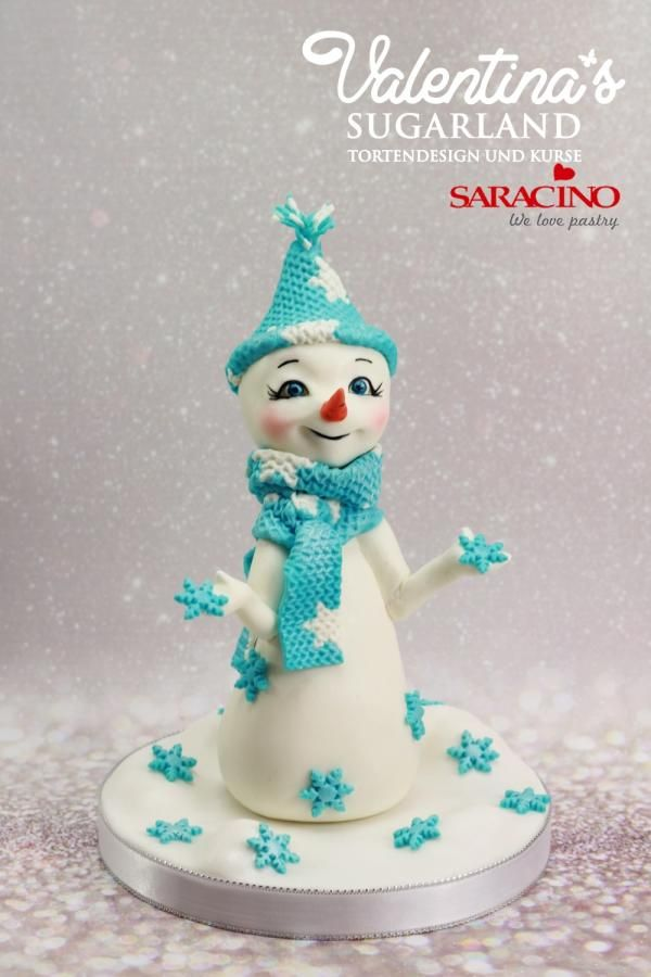 Cute Snowman by Valentina's Sugarland