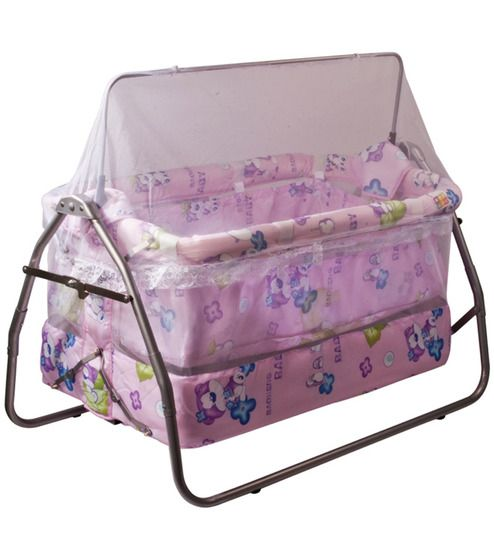 Parents dream about pampering their new born child to the fullest, this means decorating the baby's cradle, buying his clothes, toys among others. There are several types of baby cradles like rocking cradles, antique cradles manufactured by reputed companies such as Ventura, Nilkamal etc. You can buy a wide variety of cradles online only at Pepperfry.com.