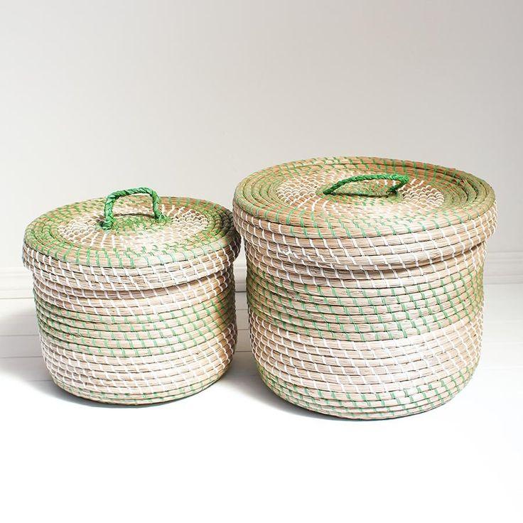 Plantation Seagrass Basket -2 Sizes